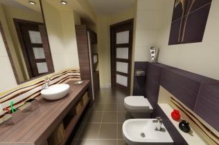 Nowoczesne Wnętrza łazienek łazienki Archimaniapl