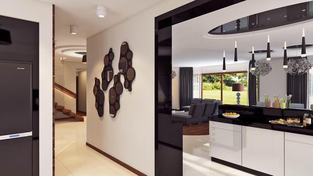 Dom W Stylu Glamour Pracownia Trendy Projekty Domow Archimania Pl