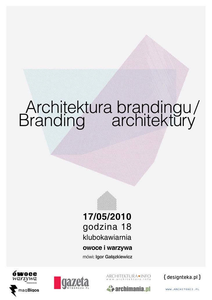 Architektura brandingu | Branding architektury