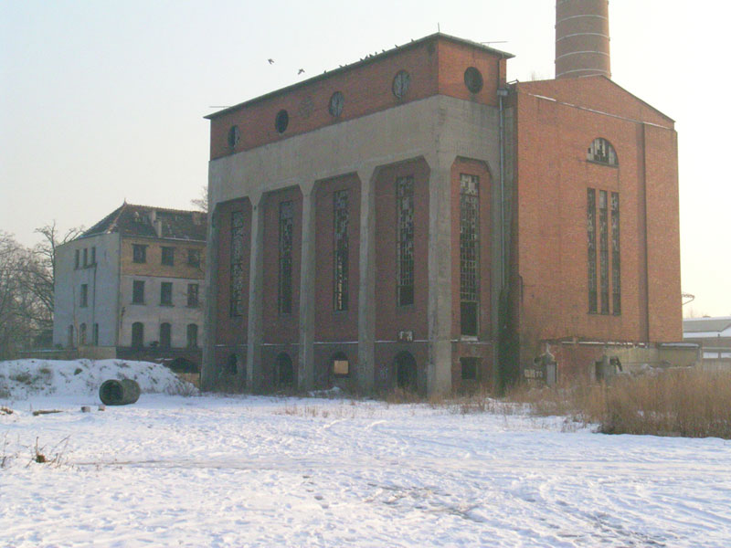 Stara kotłownia przy ulicy Paczkowskiej