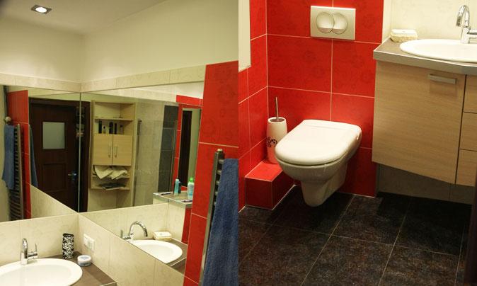 Nowoczesne wnętrza łazienek