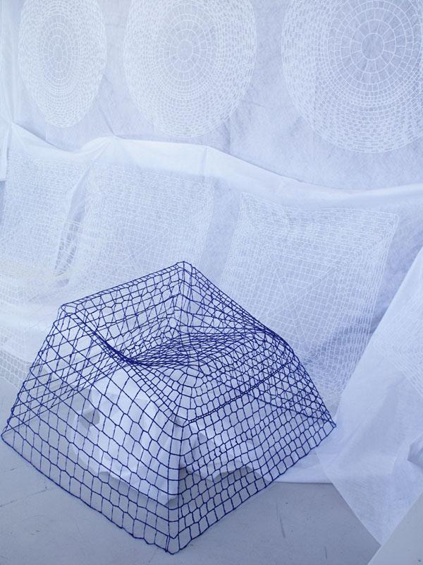 NETwork, Kolekcja mebli z haftu 3D
