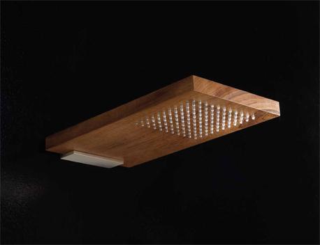 Drewniany prysznic ?