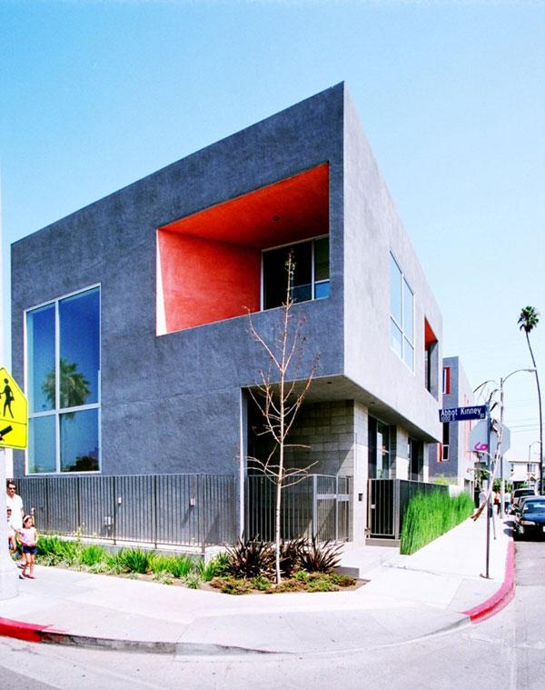 nowoczesny budynek mieszkalny