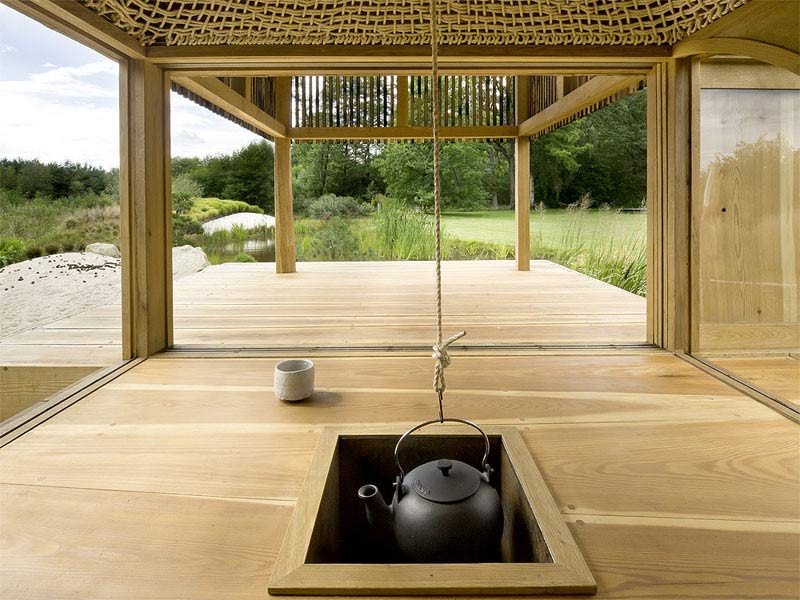 drewniana altana