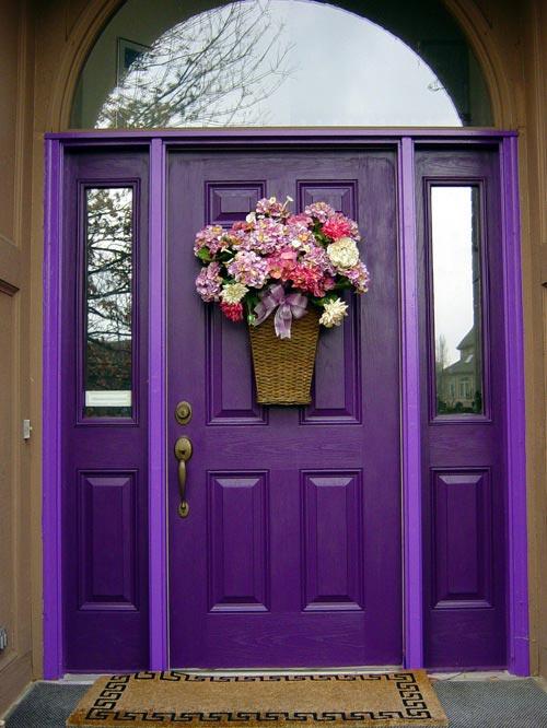 w drzwiach