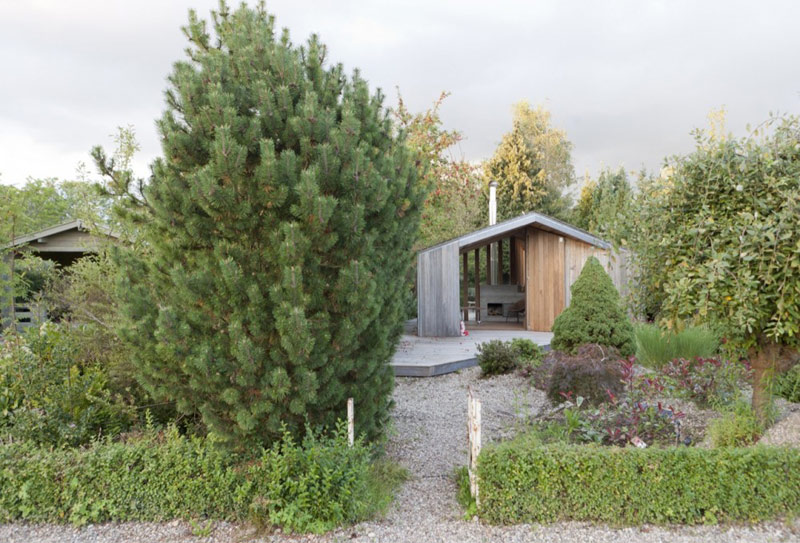 domek na ogródku działkowym