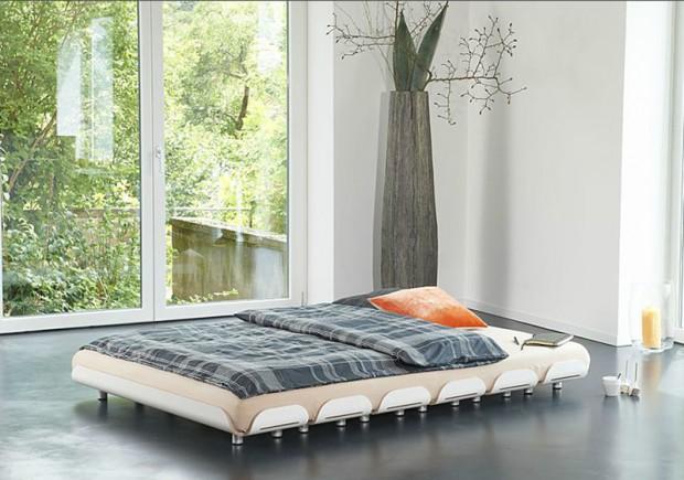 proste łóżko modułowe