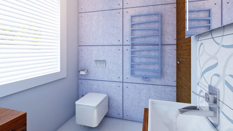 łazienki w kolorach
