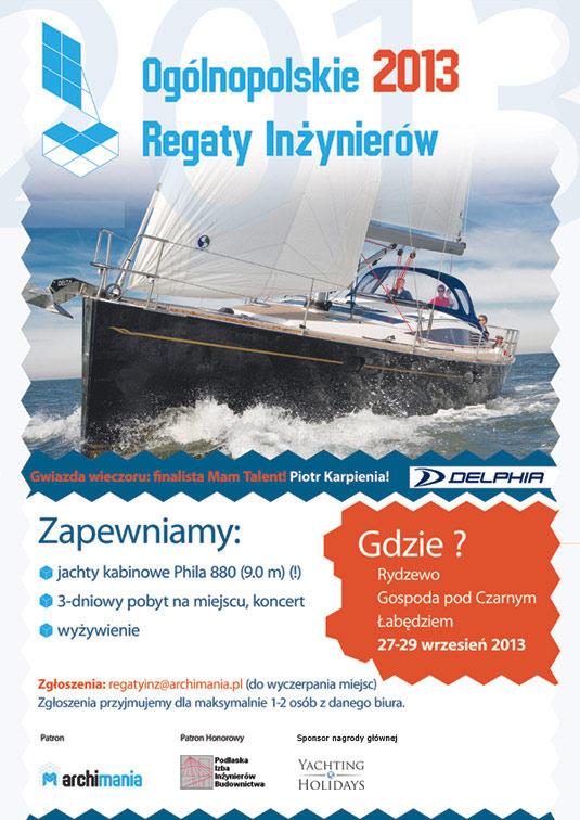 Ogólnopolskie Regaty Inżynierów 2013