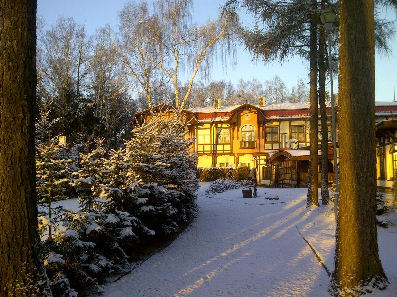 Hotel Anders Zimą