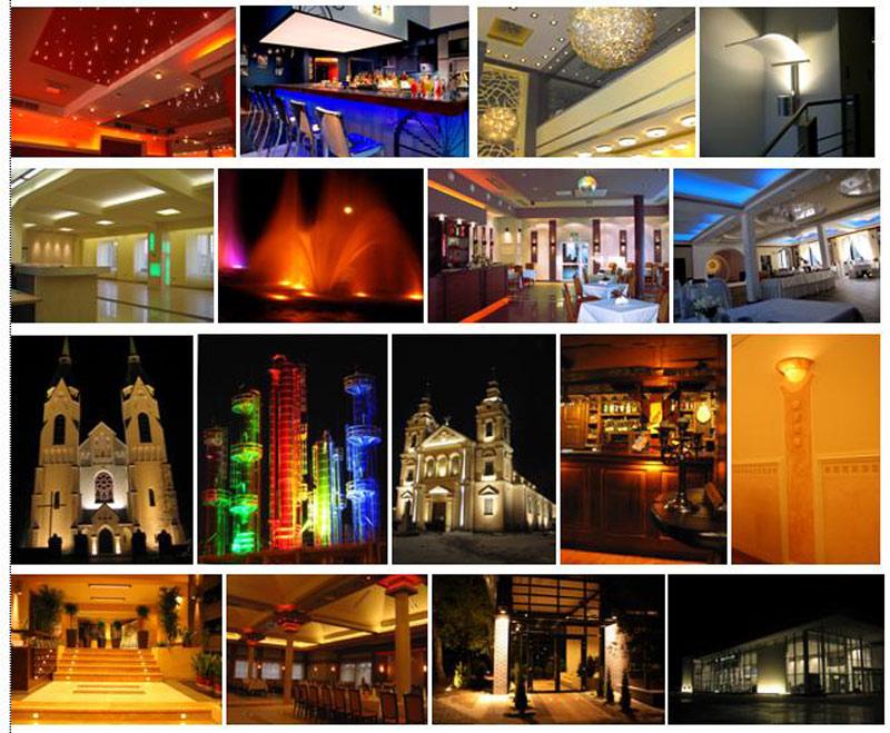 Projekty oświetlenia