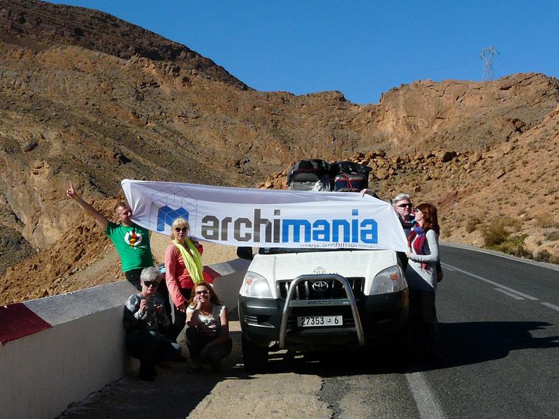 wyjazd Archimanii do Maroka