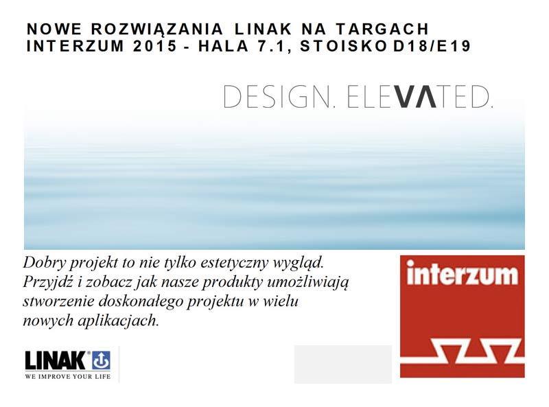 Nowe rozwiązania LINAK na targach Interzum 2015!