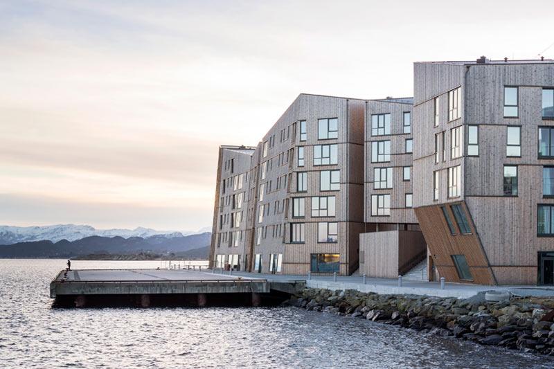 Rezydencje nad norweskim nabrzeżem – grupa AART Architects