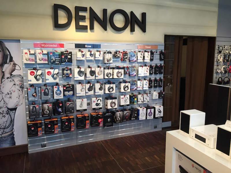 Denon Salony Firmowe – sprzęt audio/wideo najwyższej klasy