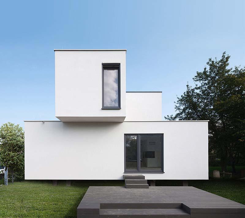 projekt domu Cube 2 box