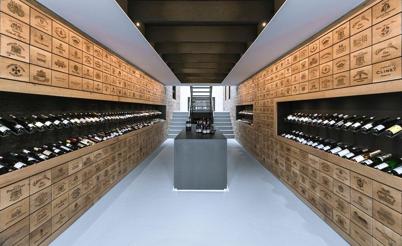 wnętrze winiarni