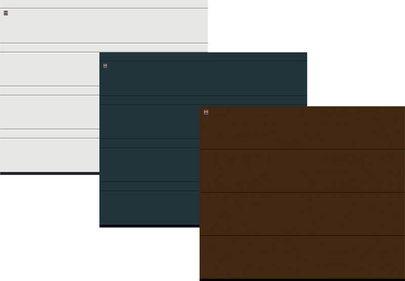 Trzy kolory w jednej cenie - promocja bram segmentowych LPU 40 firmy Hörmann