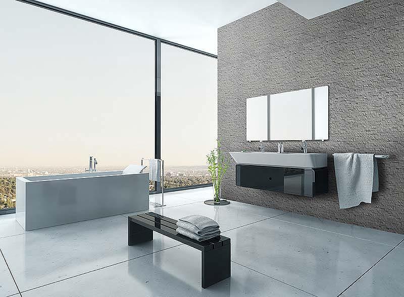 beton we wnętrzu