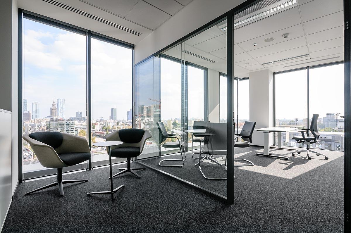 wnętrze biura SIX