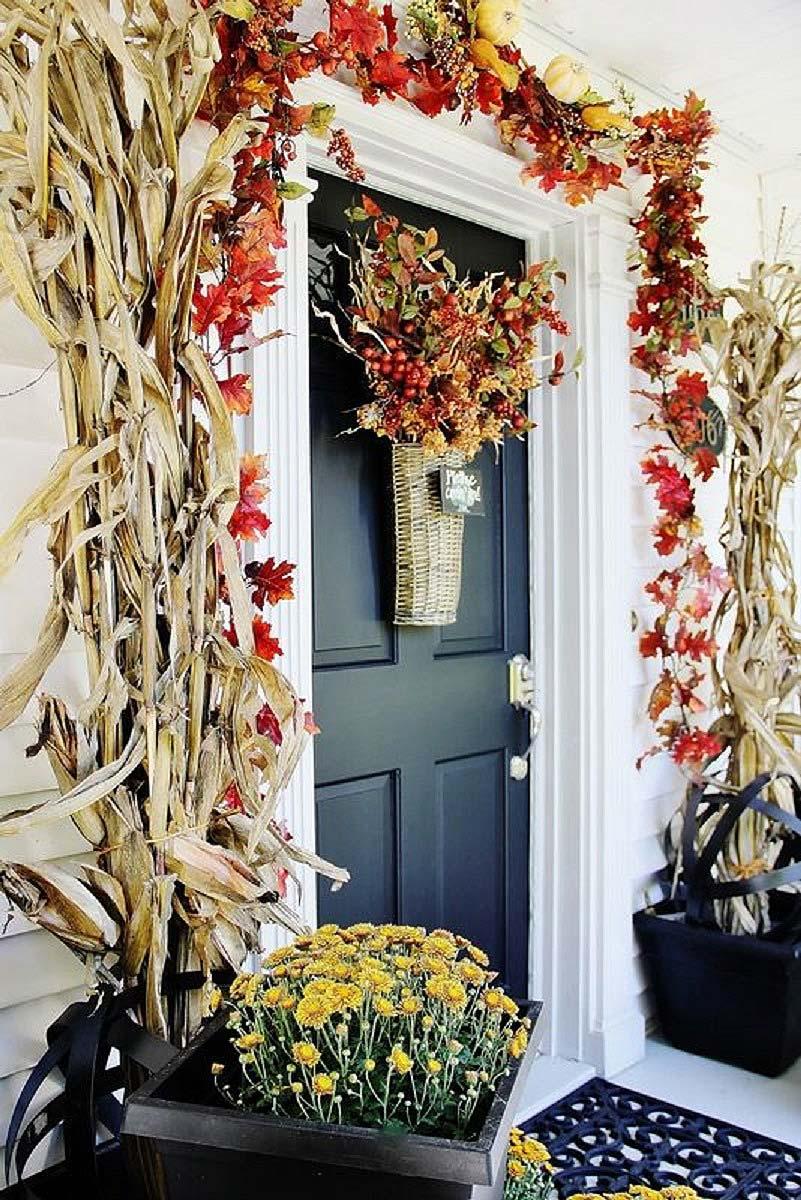 złota jesień w progu domu