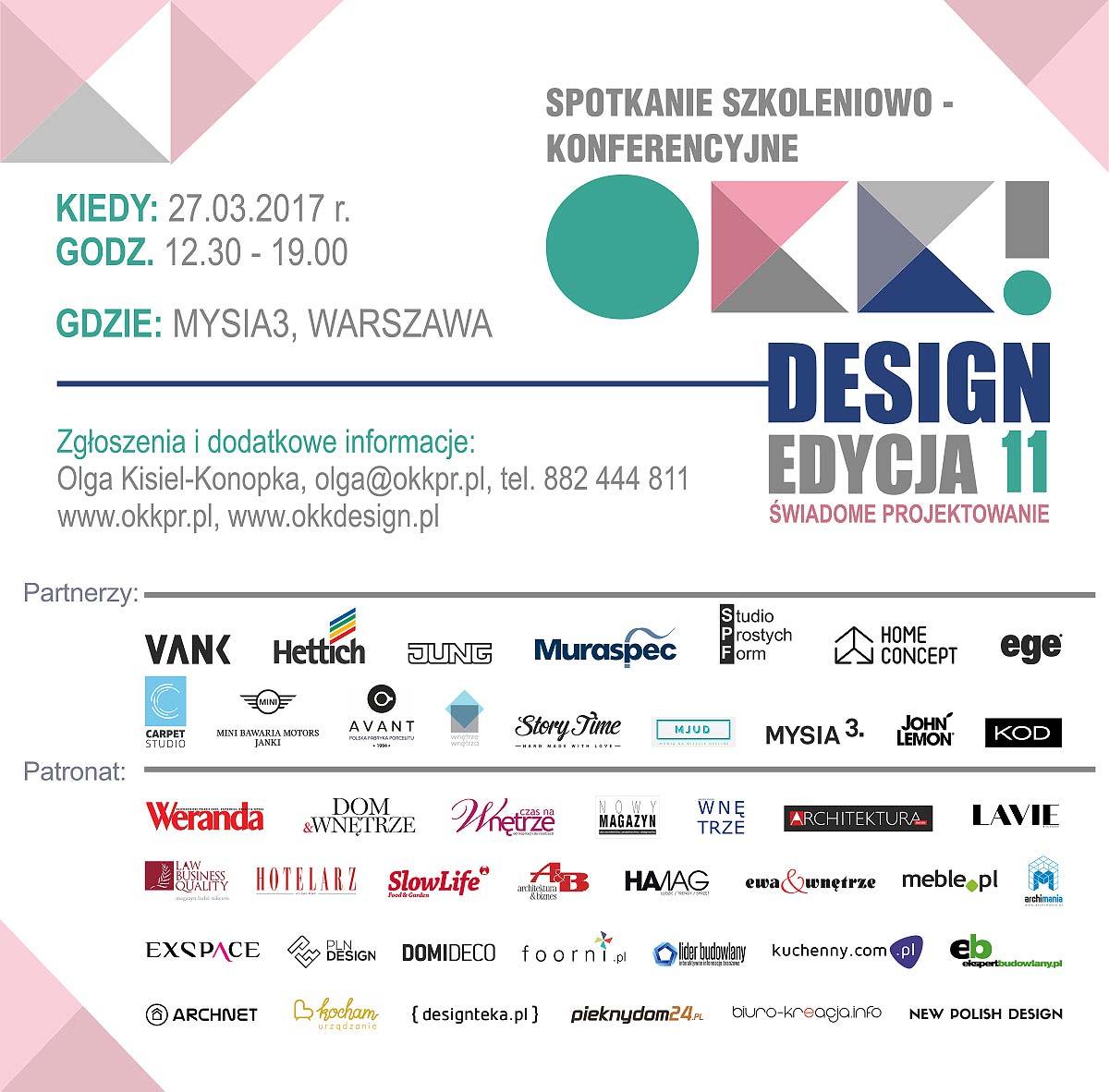 spotkanie OKK! design - 11. edycja