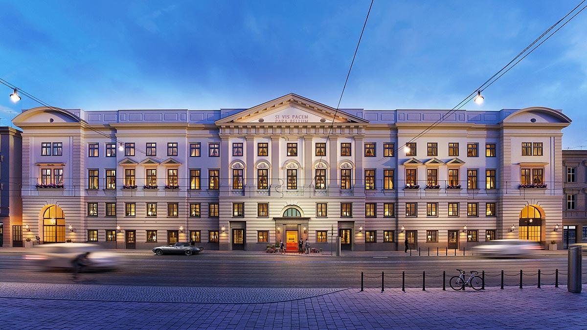 nowy hotel w Krakowie