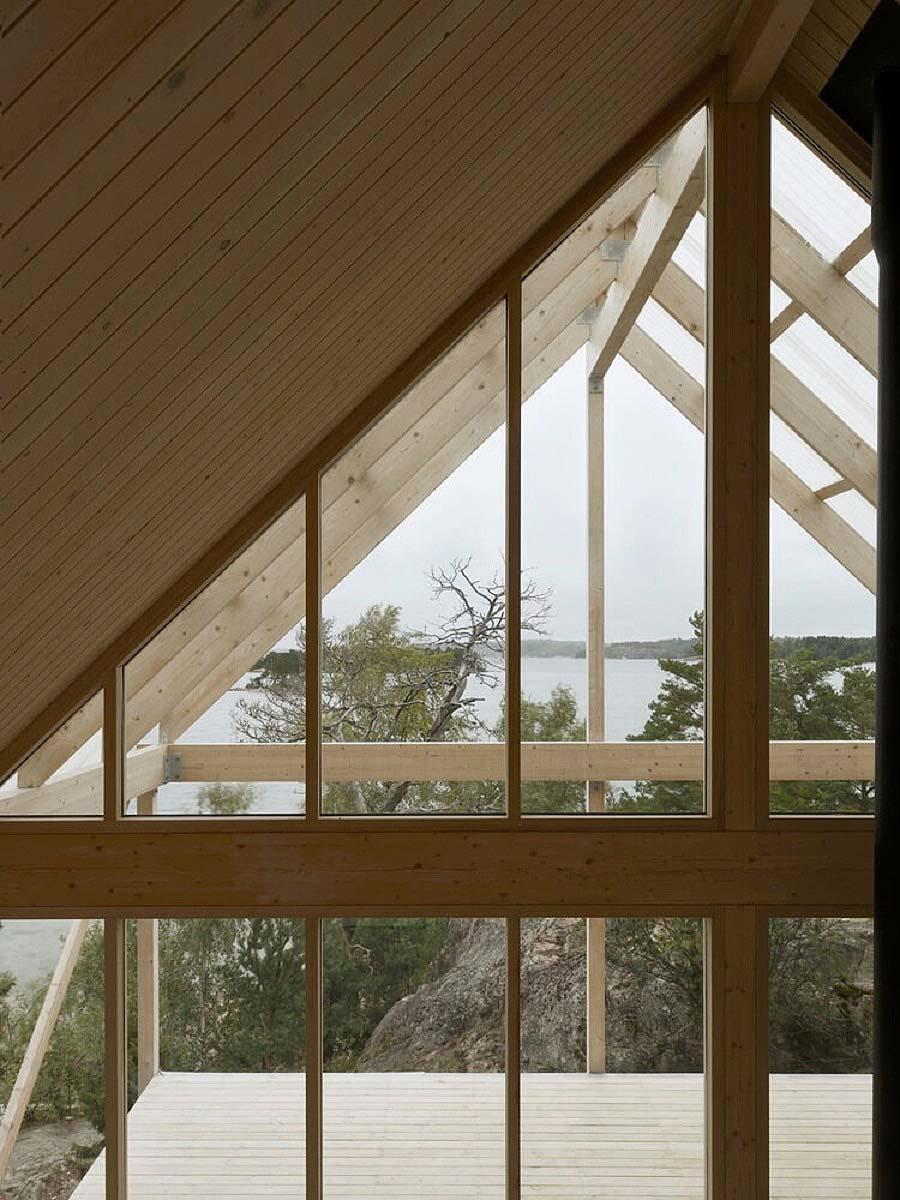dom na szwedzkim archipelagu