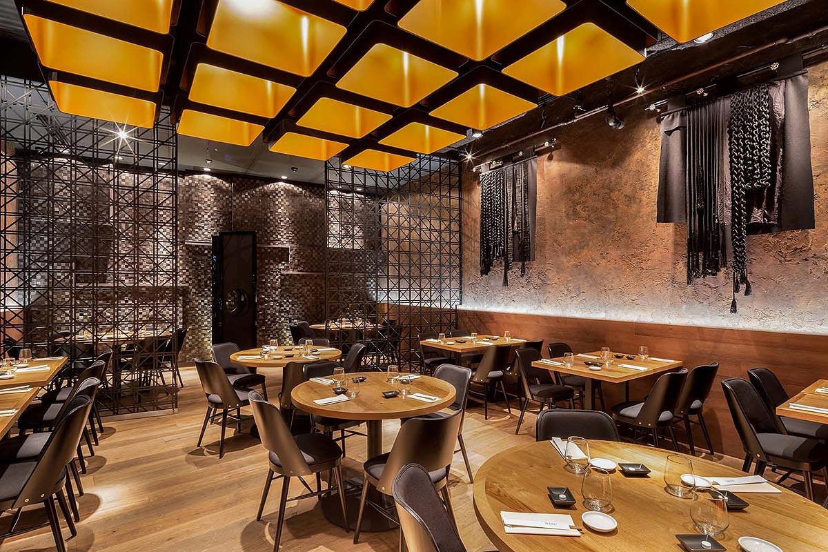 Wnętrze restauracji Wabu – Sushi & Japanese Tapas