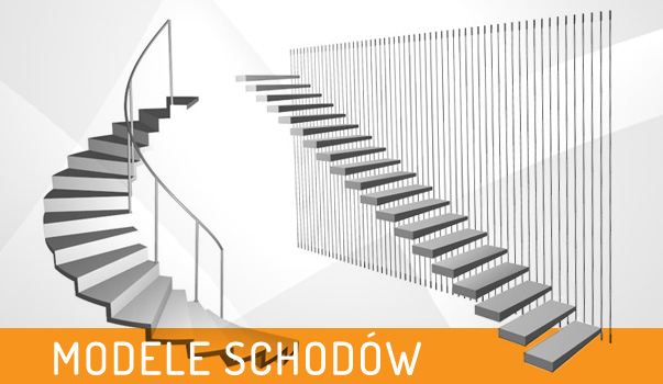 modele 3d schodów