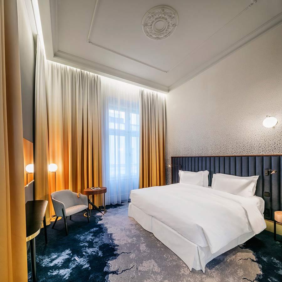 Należący do sieci mgallery hotel century old town w pradze ukazuje swoje wewnętrzne piękno