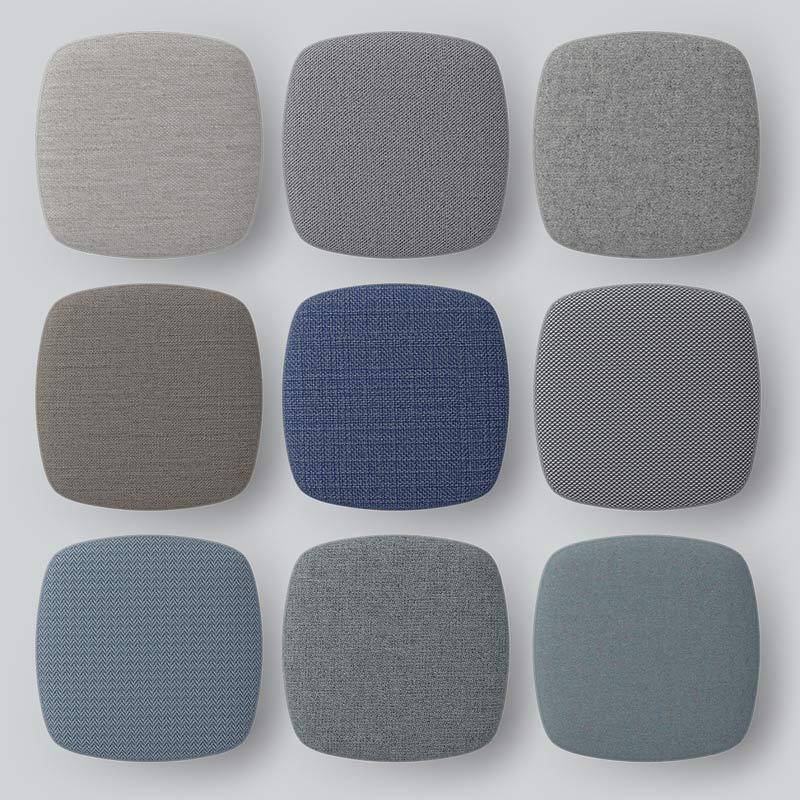Kinnarps wprowadza na rynek dziewięć nowych tkanin