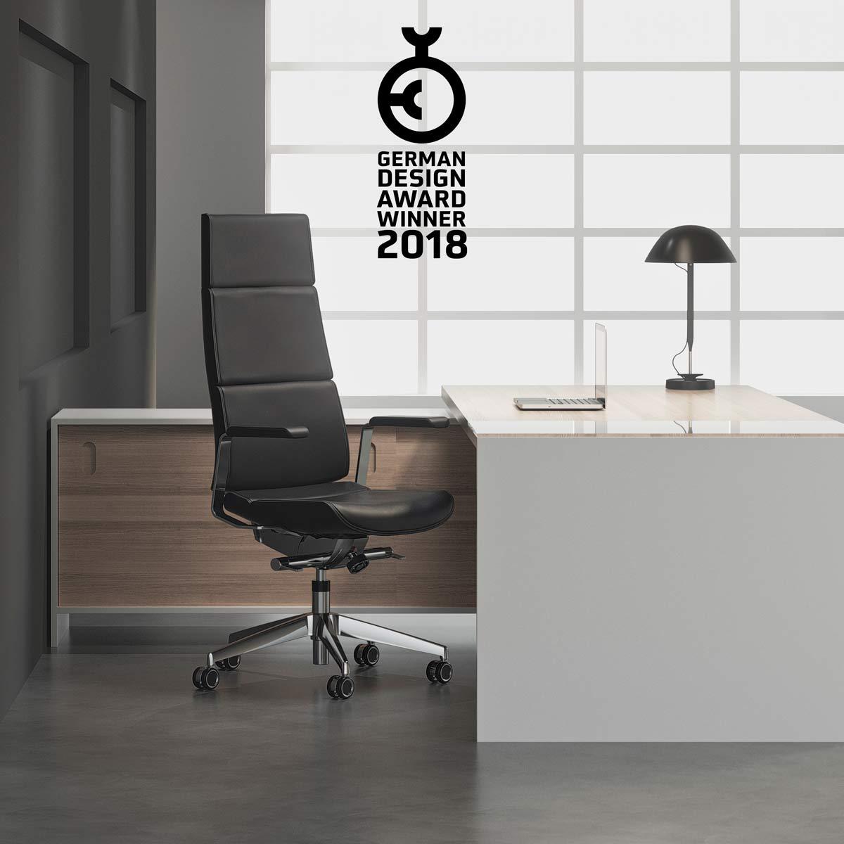 German Design Award 2018 – ZWYCIĘZCA – rodzina krzeseł COLLECTION S