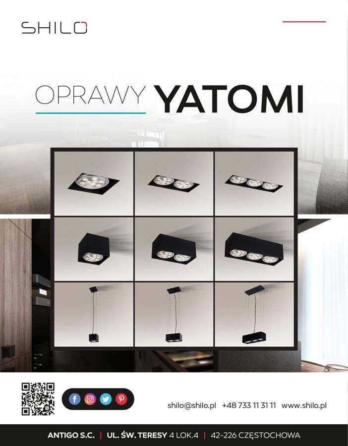 Oprawy YATOMI- oświetlenie dla Twojego domu