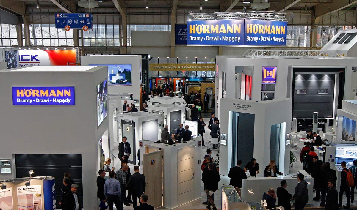 Hörmann na targach BUDMA 2018