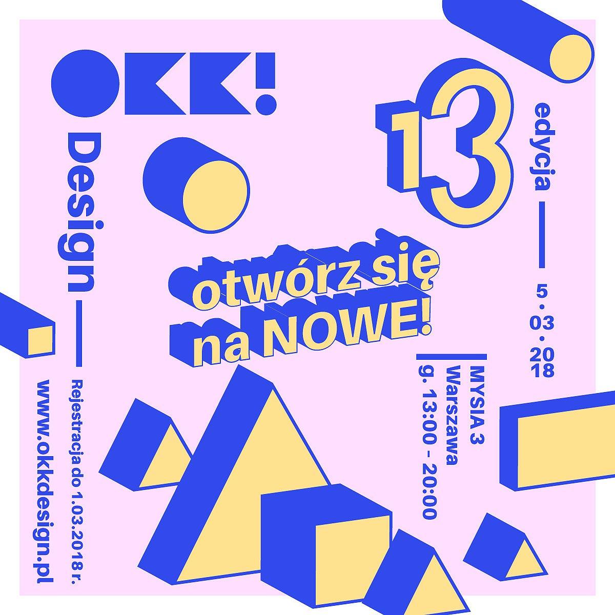 spotkanie OKK! design - 13. edycja