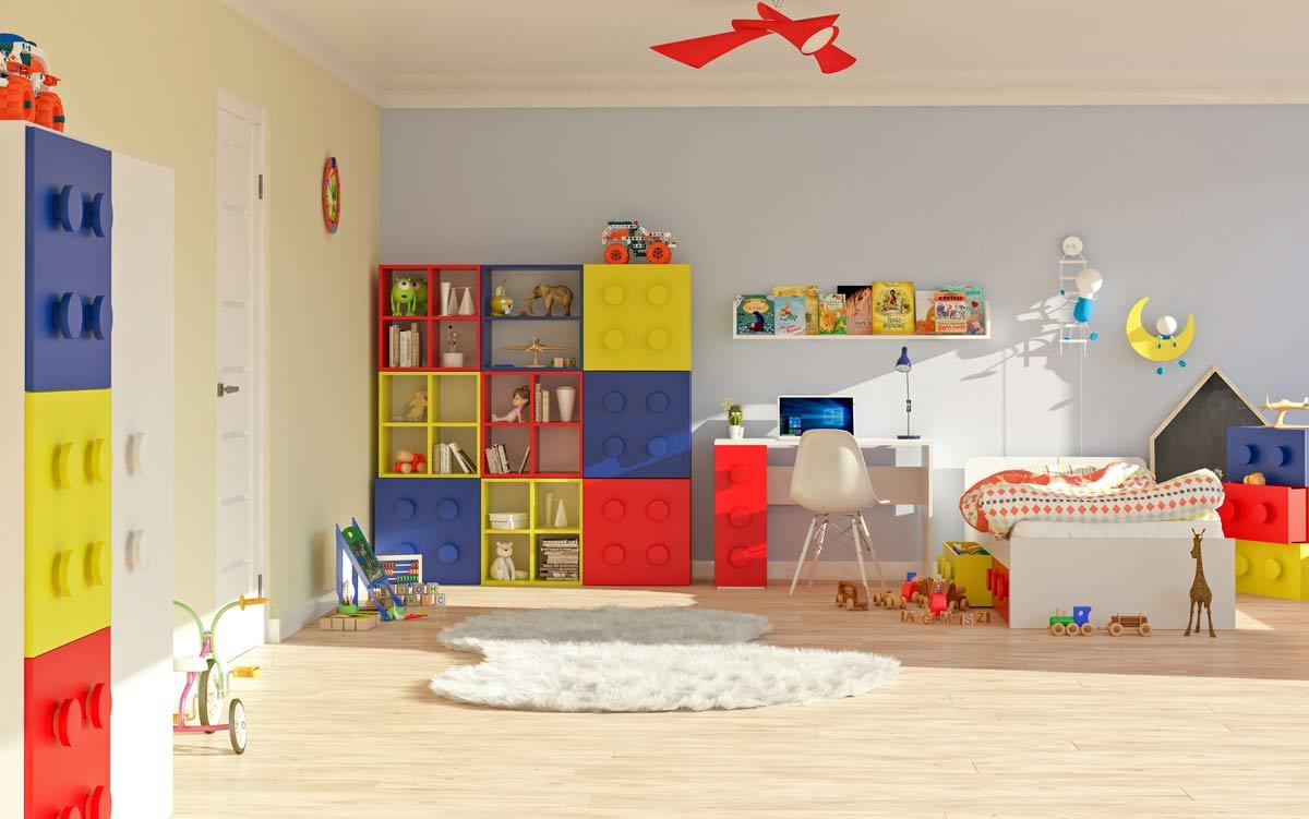 Modułowe meble dla dzieci