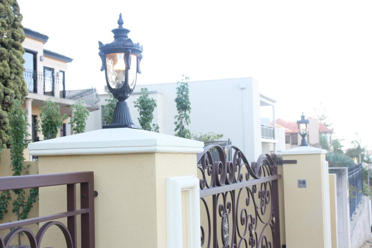 Designerskie lampy ogrodowe w rustykalnym stylu