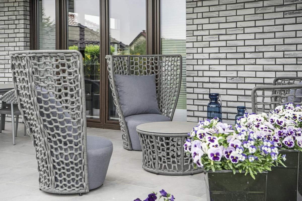 Sznurek jako nowoczesny materiał do produkcji mebli ogrodowych