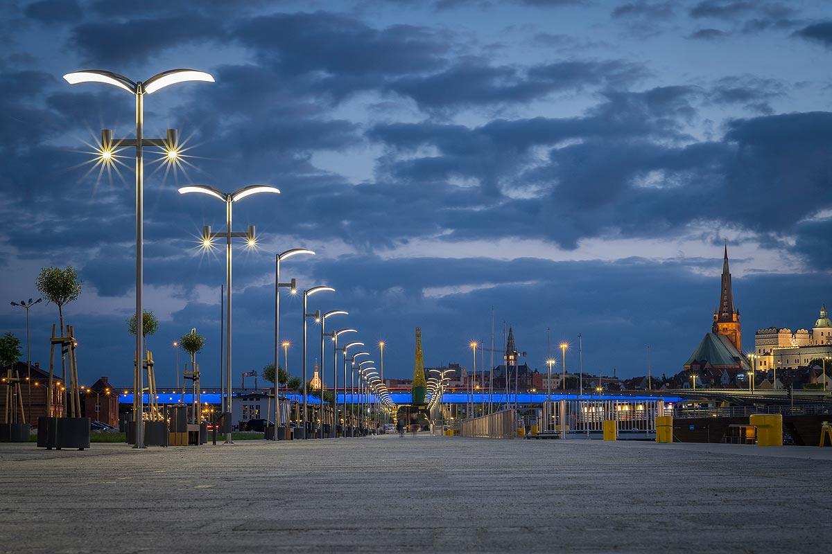 Iluminacja Bulwarów Szczecińskich