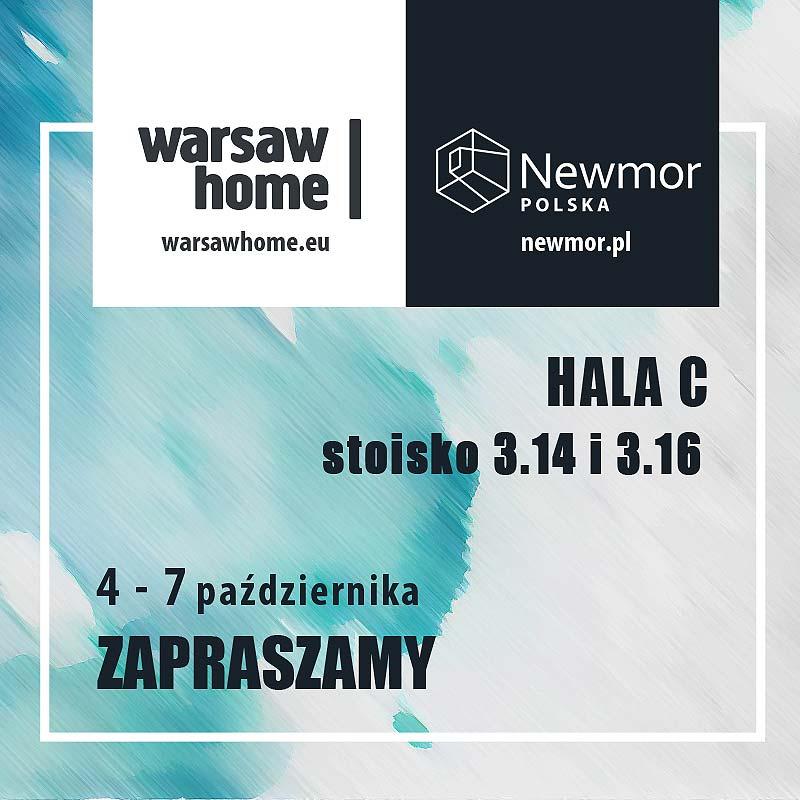 Newmor na targach Warsaw Home 2018