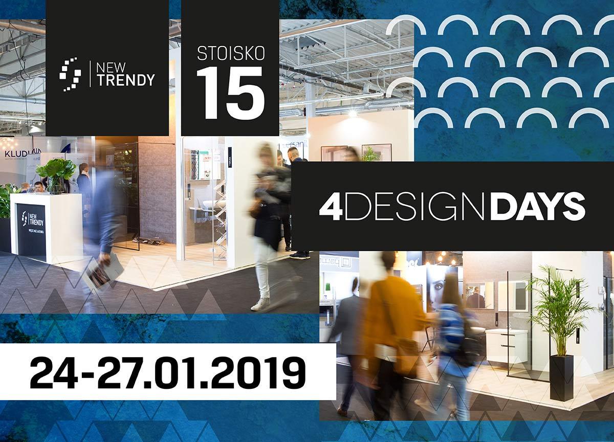 NEW TRENDY po raz kolejny na 4 Design Days