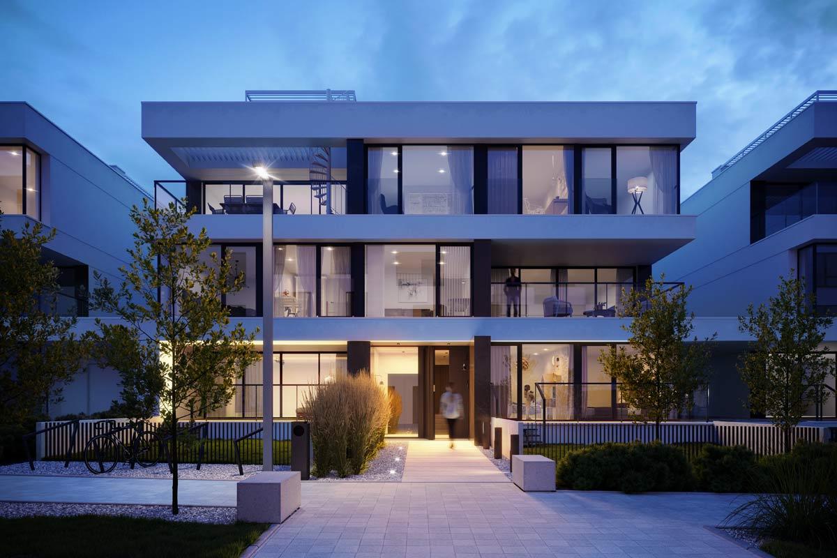 Projekt Wuwart – obraz wrocławskiej modernistycznej zabudowy apartamentowej we współczesnej odsłonie.
