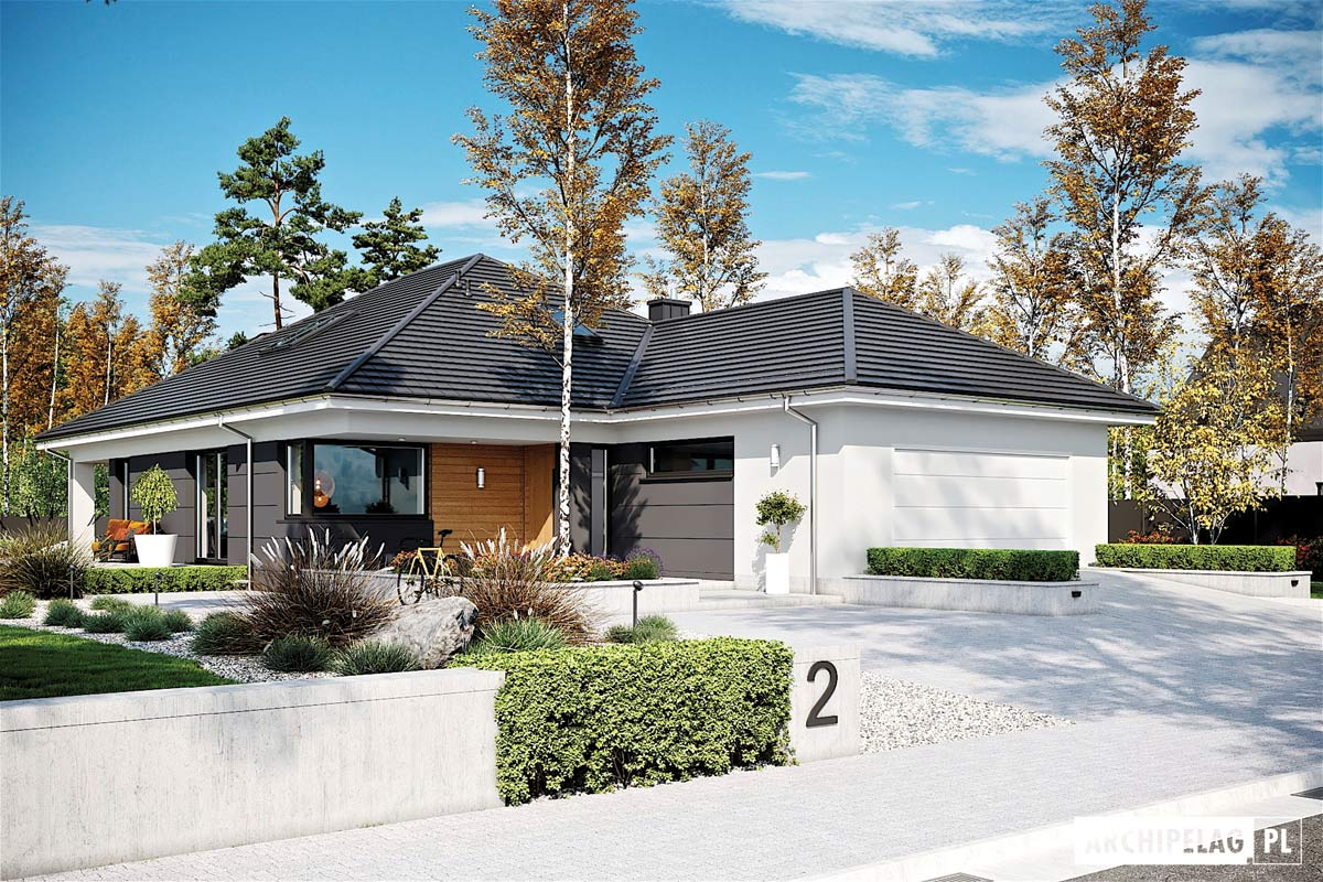Alison IV G2 – piękny dom parterowy z poddaszem do adaptacji