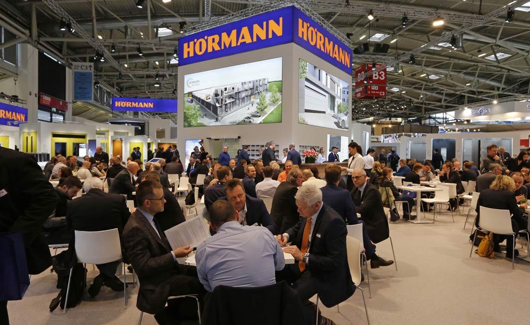 Prawdziwy design i sztuczna inteligencja - Hörmann na targach BAU 2019