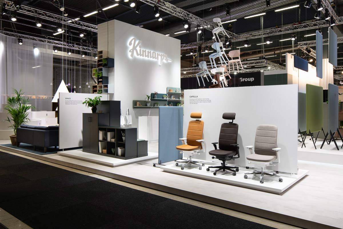 Kinnarps podczas targów Furniture & Light w Sztokholmie spogląda w przyszłość.
