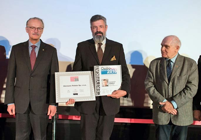Firma Hörmann Polska z laurami Builder Awards 2018