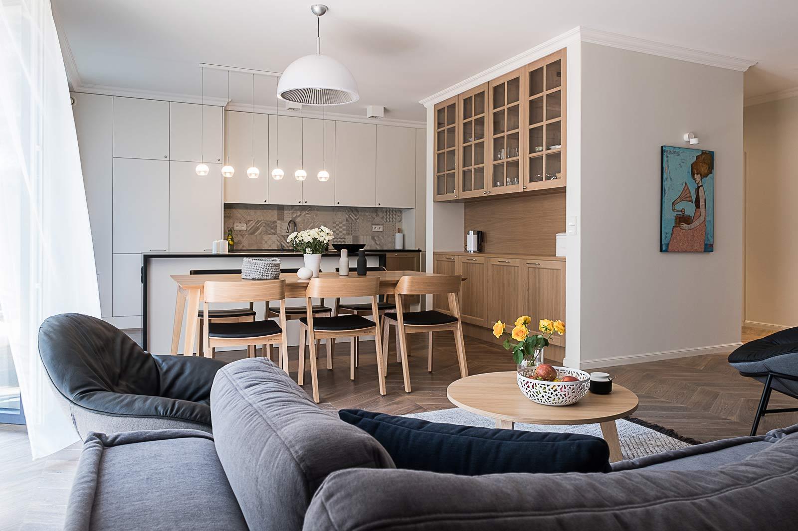 Apartament na Bielanach - pracownia Jacek Tryc