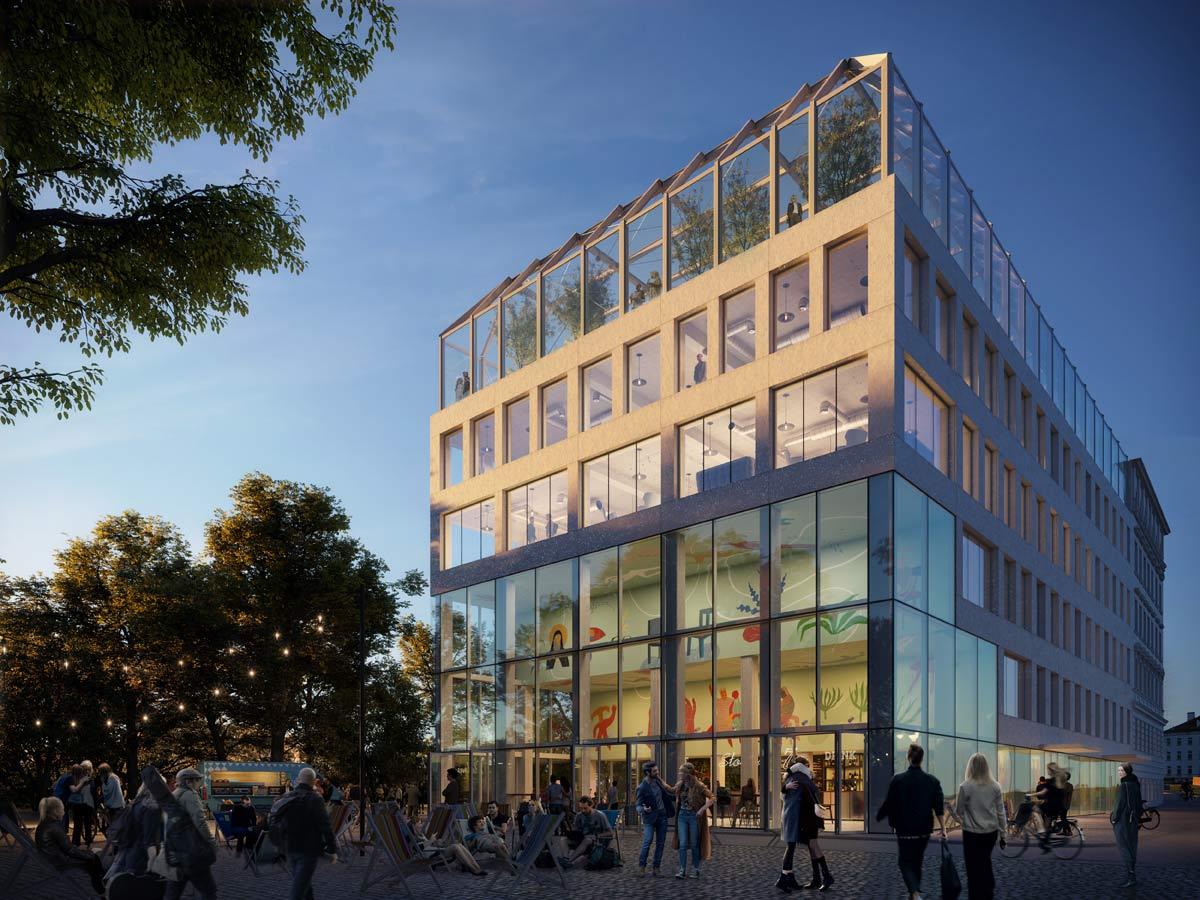 Concordia Hub – architektura i program